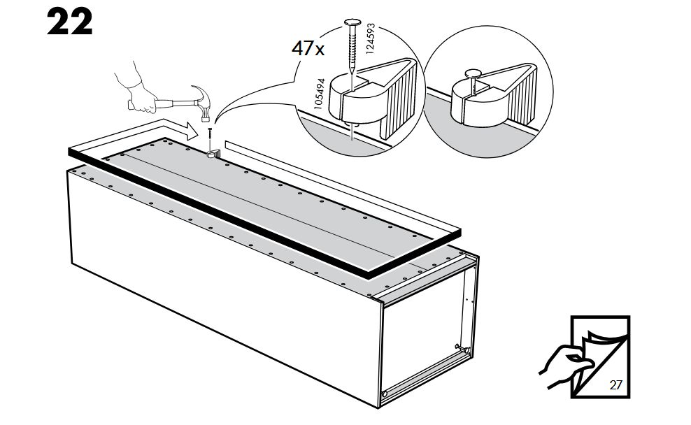 Ikea szerelés